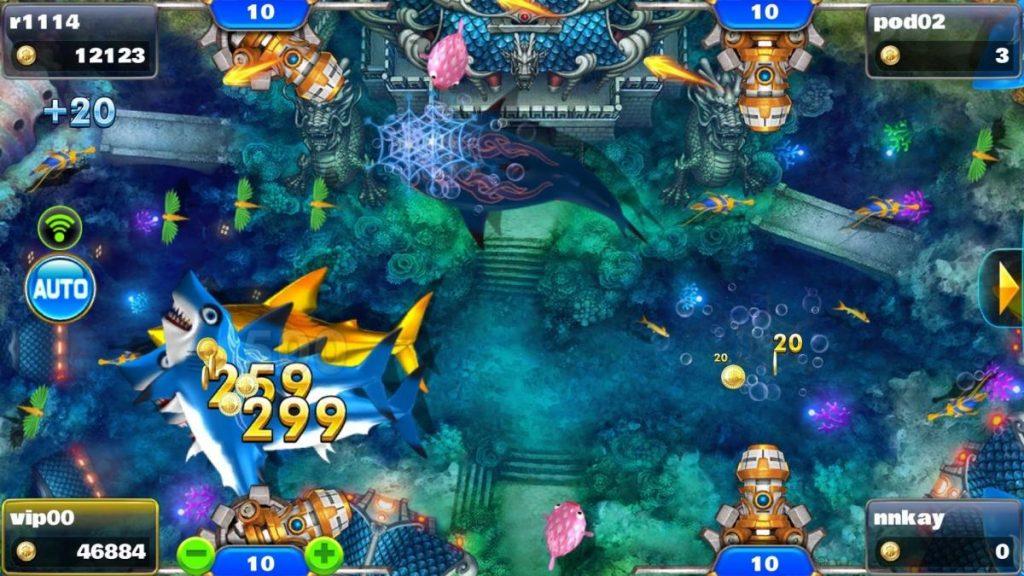 เกมยิงปลา เปิดโอกาสให้ผู้ใช้งานได้เข้าไปทดลองเล่นยิงปลากันโดยไม่เสียค่าใช้จ่าย