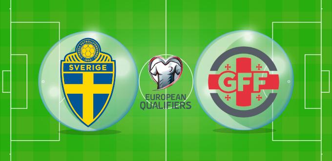 ฟุตบอลโลก 2022 โซนยุโรป สวีเดน พบ จอร์เจีย