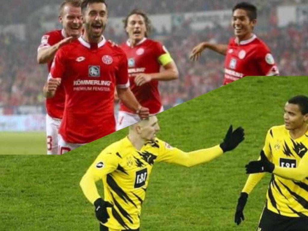 ฟุตบอลบุนเดสลีก้า 2021 เสือเหลืองเกมนี้ยิงขาด ไมนซ์ฟอร์มแรงฟาดสามแต้ม