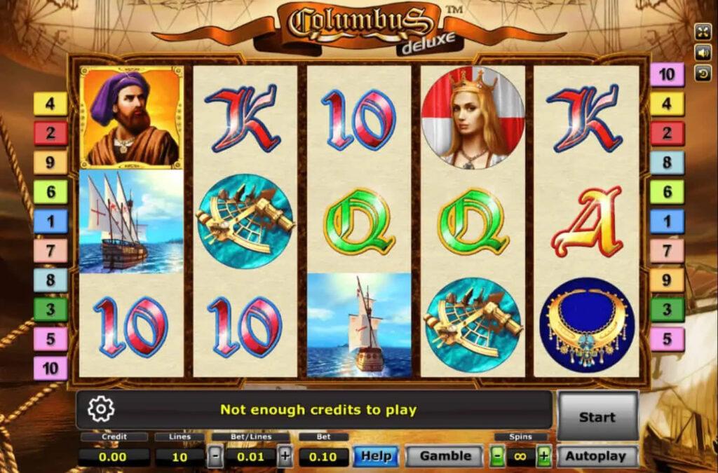 ระบบการเล่น columbus-deluxe